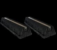 Bodenkonsole / Aufstellblock – Gummi Fuß 60cm länge